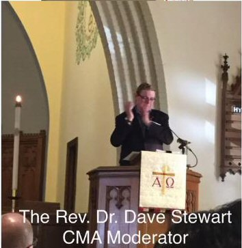 Rev. Dr. Dave Stewart-CMA Moderator